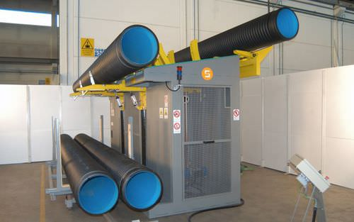 layer palletizer / for plastic pipes / automatic