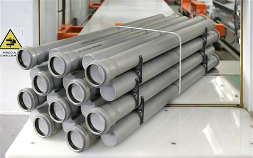 layer palletizer / Cartesian / for plastic pipes / automatic