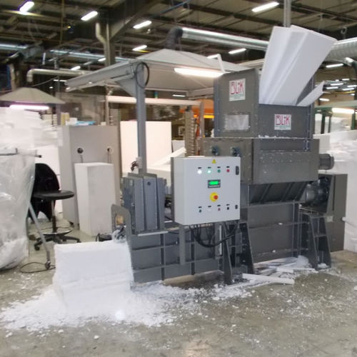 roller crusher-compactor / horizontal / for EPS