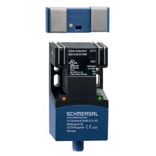RFID technology safety sensor