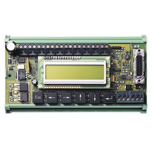 operator interface with keyboard / panel-mount / machine