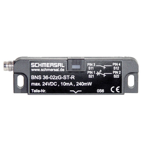 magnetic proximity sensor / rectangular / IP67 / safety