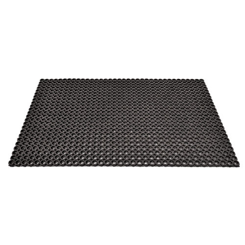 anti-slip floor covering / rubber / for stairs / office