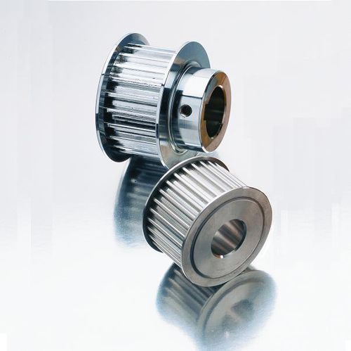 toothed pulley / timing belt / aluminum
