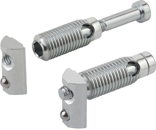 self-locking section connecter