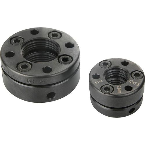 locking nut / steel / for ball screw