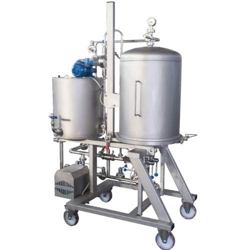 wine filter / basket / horizontal / mobile