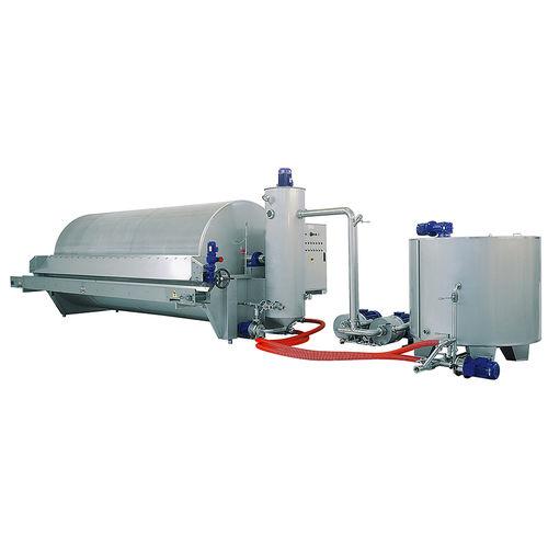 liquid filter / drum / rotary drum / vacuum