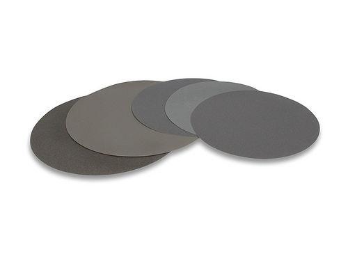 silicon carbide abrasive disc / for polishing / grinding / for metal