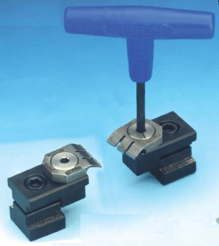 mechanical clamp / horizontal / miniature / eccentric