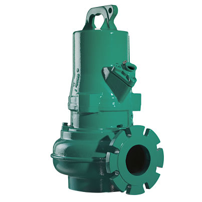 wastewater pump / with asynchronous motor / submersible / vortex