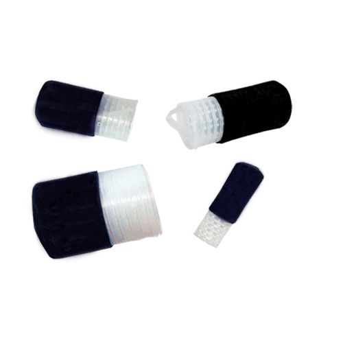 threaded end cap / cylindrical / rubber / EPDM