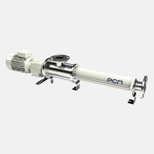 food product pump / electric / progressive cavity / industrial