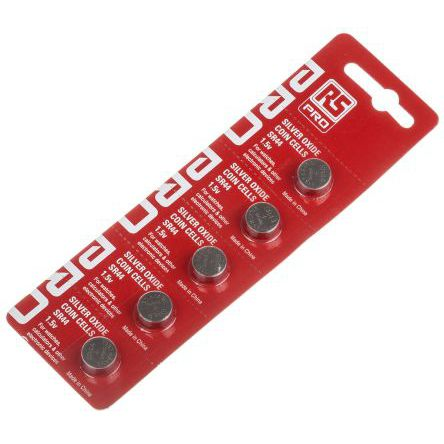 1.5 V battery / silver oxide / CR / non-rechargeable