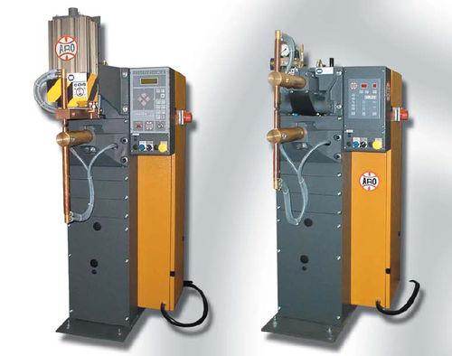 spot welding machine / AC / semi-automatic / pneumatic