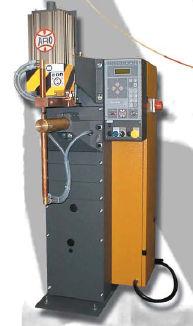 spot welding machine / AC / semi-automatic