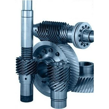 worm gear / helical-toothed / for gear wheels