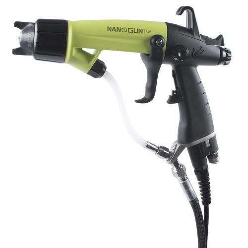 spraying gun / for solvents / manual / low-pressure