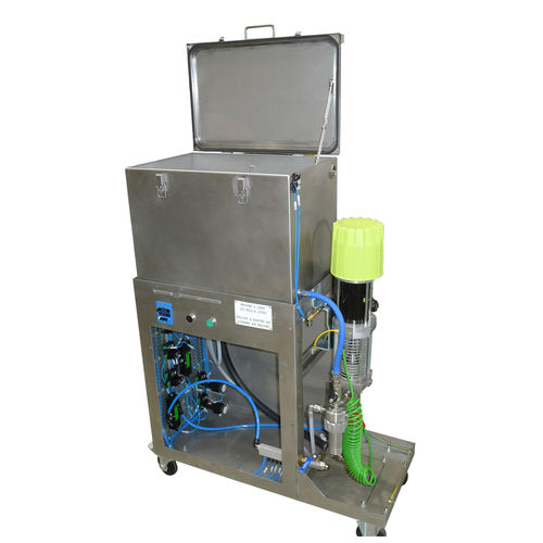 automatic washing unit / compact / immersion / with rinsing