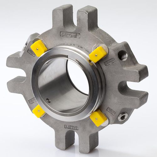 cartridge mechanical seal / spring / for pumps / for corrosive liquids