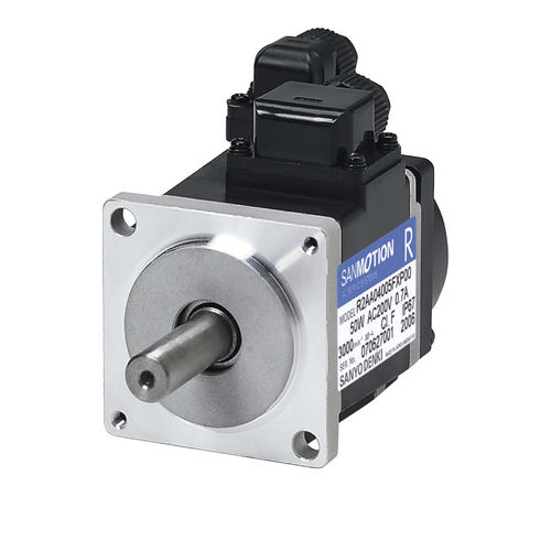 AC servomotor / brushless / 48V / medium-inertia