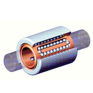 linear ball bearing / miniature / closed / stainless steel