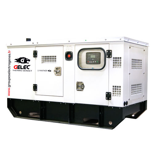 three-phase generator set - GELEC ENERGY