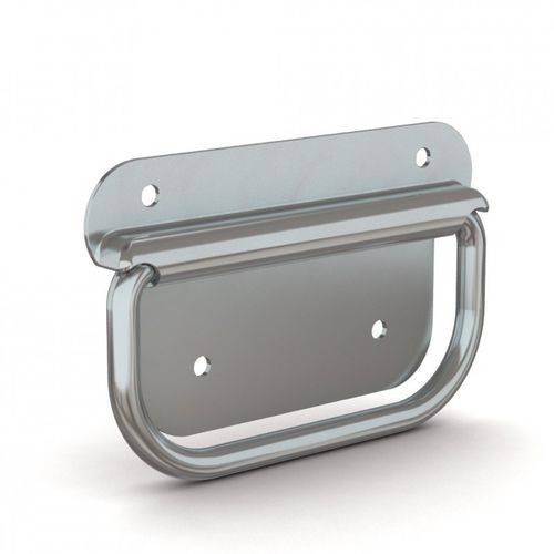 pull-out handle / transport / steel / U-shaped