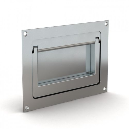 flush handle / folding / transport / steel