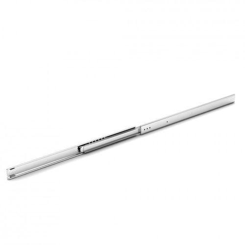 full-extension slide / telescopic / ball bearing / stainless steel