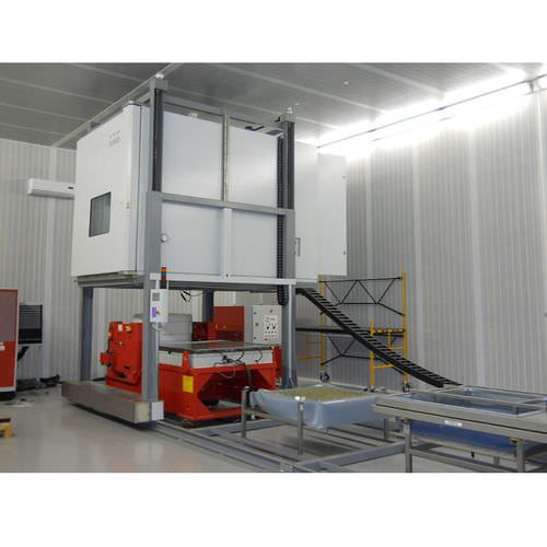 climatic test chamber / vibration / with temperature and climatic control