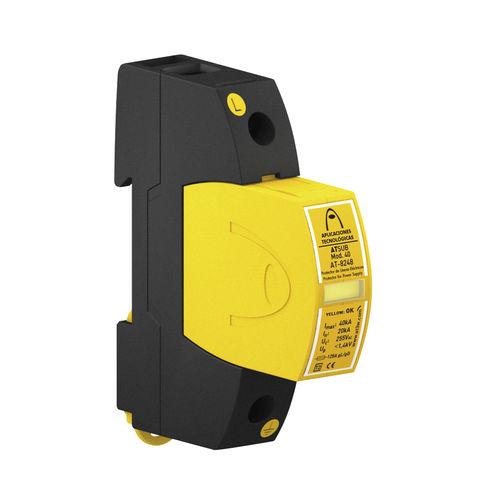 type 2 surge arrester / single-pole / coordinated / DIN rail