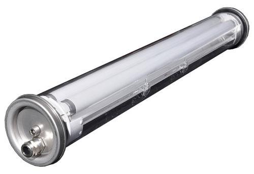 light fixture / LED / fluorescent tube / for storage hall