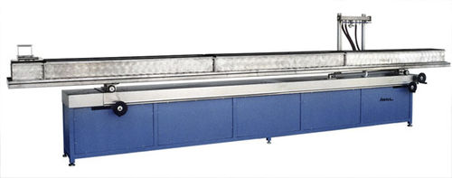 tube cooling bath / for extrusion / profile