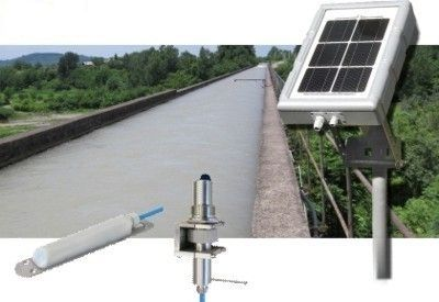 ultrasonic flow meter / Doppler ultrasonic / for liquids / open-channel