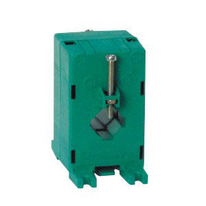 instrument transformer / current / cast resin / through-hole