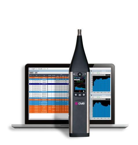 acoustic measuring system / for building diagnostics / smart