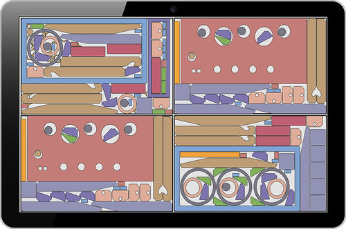 CAD/CAM software / optimization / 2D nesting / cutting