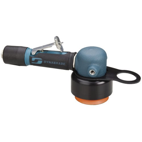 orbital polisher / pneumatic / for all materials