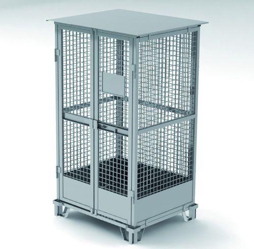 steel intermodal container