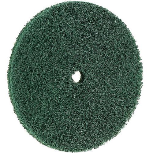 nylon abrasive disc / for finishing / for polishing / grinding