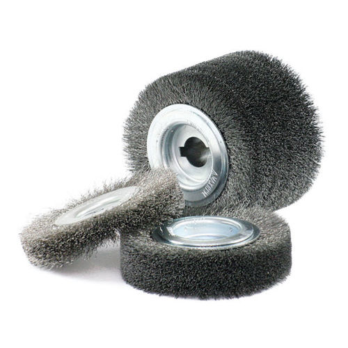 circular brush / cleaning / deburring / stainless steel