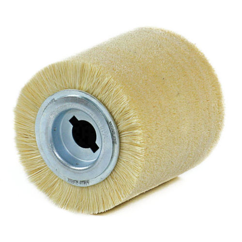 cylindrical brush / cleaning / polishing / fiberglass