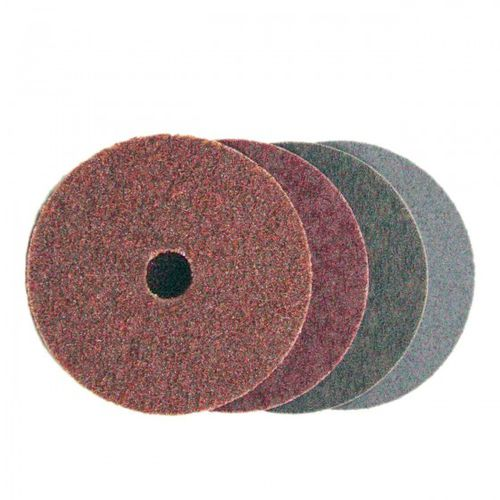 nylon abrasive disc / for deburring / for grinding / for metal
