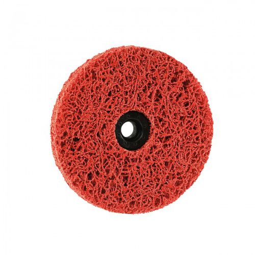 ceramic abrasive disc / cleaning / for metal