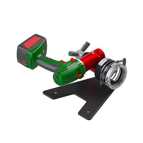 electric chamfering machine / portable / orbital / manual