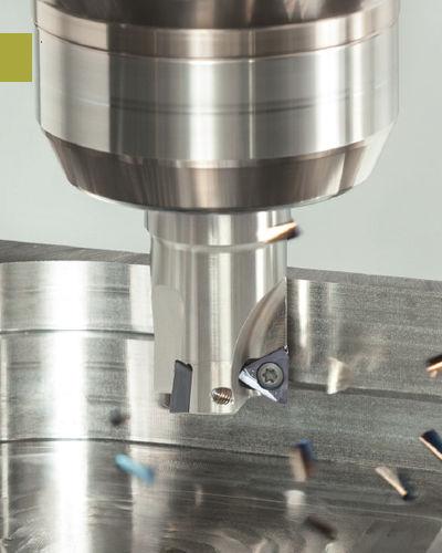 shell-end milling cutter / insert / face / shoulder