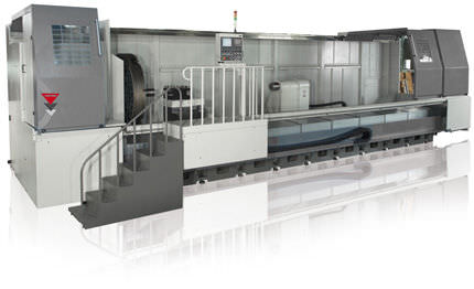 CNC lathe / 2-axis / for heavy-duty machining