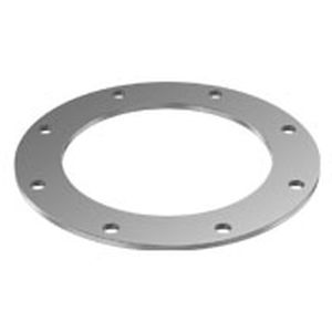 pipe flange / stainless steel / carbon steel / through-hole