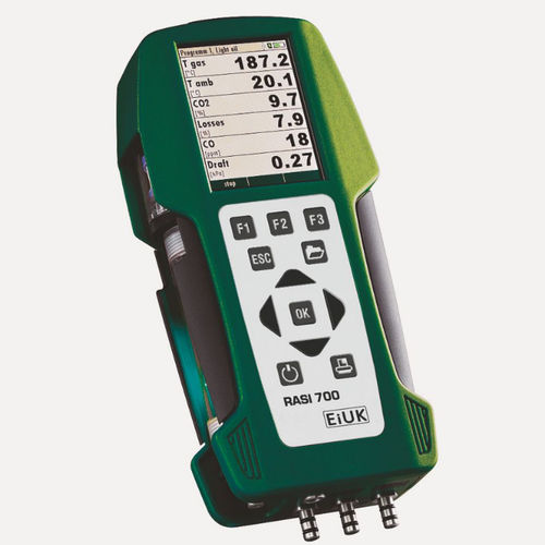 flue gas analyzer / oxygen / carbon monoxide / nitrogen oxide
